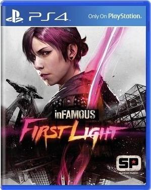 Infamous First Light Ps4 Digital Primária Vitalício Promoção