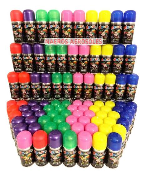 Pintapelo X36 Pintura Para El Pelo Lavable Colores Cotillon