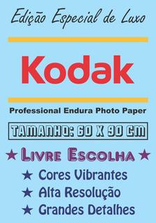 Pôster Cartaz Foto Kodak Personalizado Livre Escolha 60x90cm