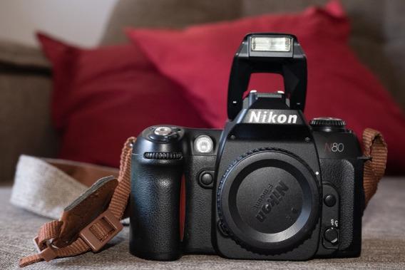Câmera Nikon N80 Perfeita