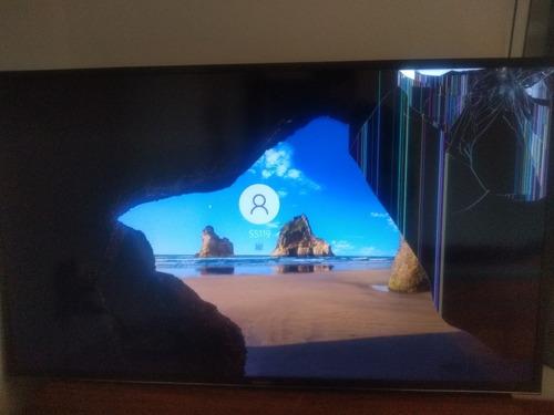 Imagem 1 de 2 de Smart Tv Samsung 40'  4k Un40mu6100g (quebrada)