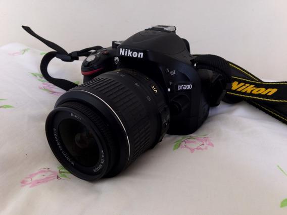 Camera Fotográfica Nikon D5200 + Lente Nikkor 50mm 1.8g