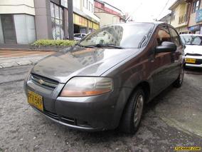 Chevrolet Aveo Sd Mt 1600cc 4p Aa