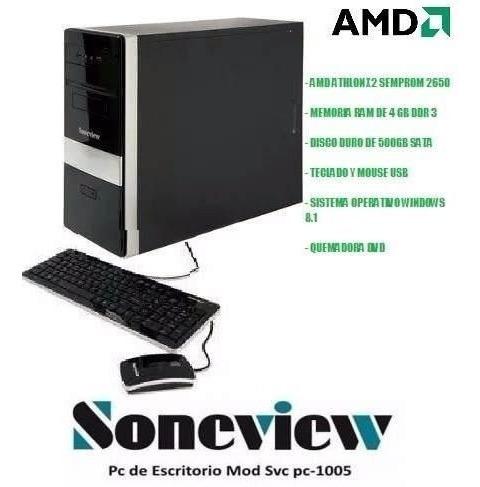 Computador Soneview Pc-1005