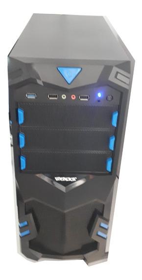 Computador Gamer Satellite Amd 6 Cores 16gb Gtx 750ti Hd500
