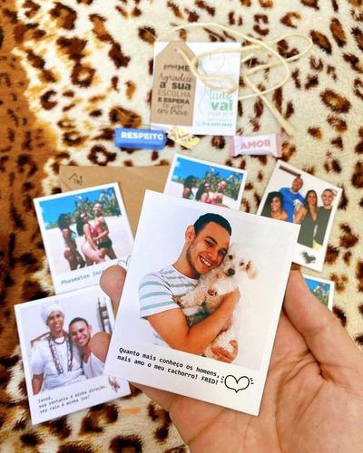 Kit Dengo - 6 Polaroid Com Imã