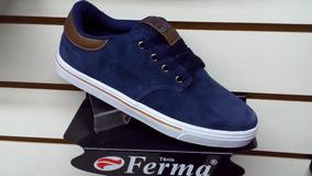 Tenis Ferma Skate Mod. S4825 Marinho