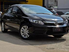 Honda Civic Lxl Flex Aut. 4p 2012 - Único Dono