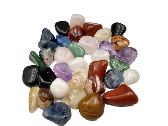 Pedras Brasileiras Mistas Roladas 1kg