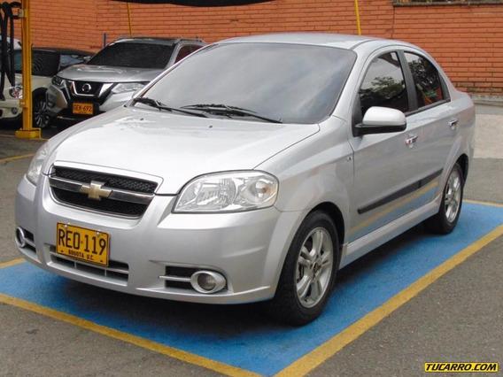 Chevrolet Aveo Emotion Lx Sedan.