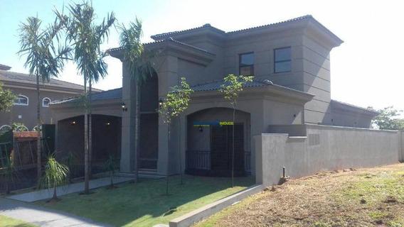 Casa De Alto Padrão À Venda, Residencial Quinta Do Golfe, São José Do Rio Preto - Te0503. - Ca2079