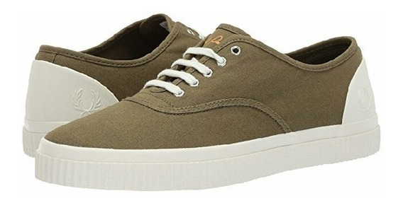 Fred Perry Tenis Barson Canvas Sneakers 28.0 Mex. Ben Shermn