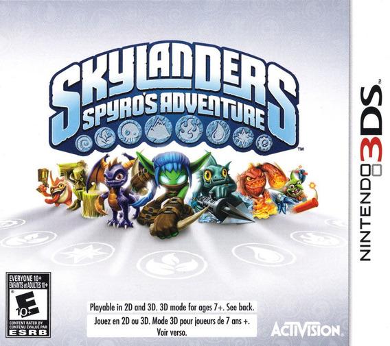 Jogo Skylanders Spyros Adventure Nintendo 3ds Usado Mídia Fí