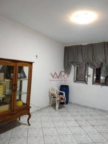 Sobrado Com 2 Dormitórios À Venda, 90 M² Por R$ 319.999,99 - Cidade Líder - São Paulo/sp - So0586