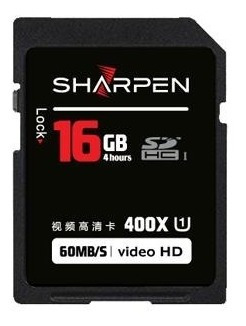 Cartão Sd 16gb Sharpen 60mb/s Classe 10 Sharpen