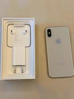 iPhone Xs Silver De 64gb