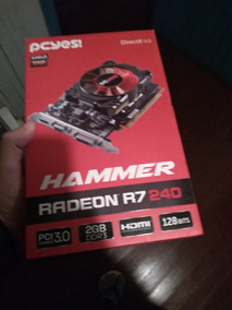Amd Radeon R7 200 Series 2gb - Placas de Vídeo PCI Express