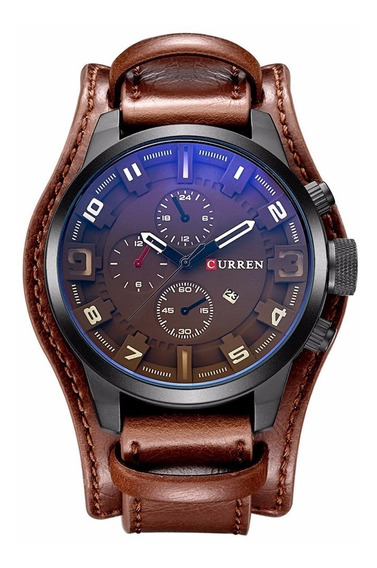 Relógio Militar Esporte Bracelete Curren 8225 **promoção**
