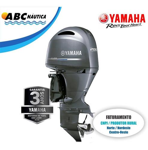 Motor De Popa Yamaha 200hp 4t  Leia Anúncio