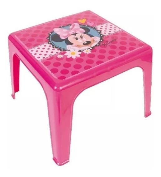 Mesa Plastico Jardin 46x46x39cm Minnie Peppa Pig Babymovil