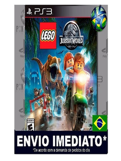 Jogo Infatil Ps3 Lego Jurassic World Ps3 Mídia Digital Psn