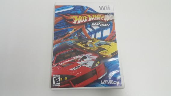 Hot Wheels Beat That - Nintendo Wii - Original - Usado