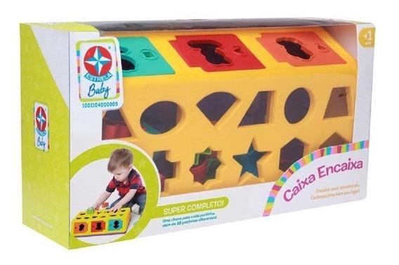 Jogo Caixa Encaixa - Estrela