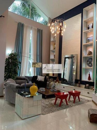 Imagem 1 de 30 de Casa Com 3 Dormitórios À Venda, 448 M² Por R$ 2.650.000 - Parque Campolim - Sorocaba/sp - Ca2103