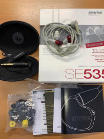Fone Shure Se535 Ltd-j Red Original
