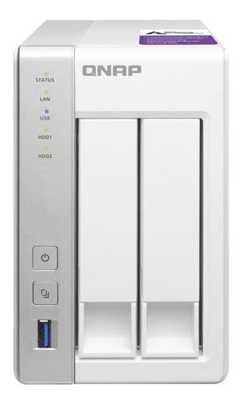 Nas - Sata Ethernet - Qnap Personal Cloud 2 Baias Ts-231p (sem Discos)