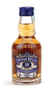 Whisky Chivas Regal 18 Años 50cc