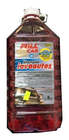Shampoo Siliconado Ph Neutro Full Car 5l Zona Norte