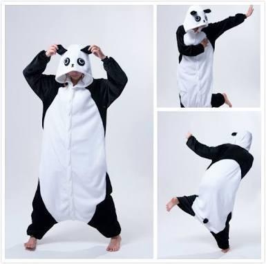 Traje De Panda Cosplay #dinero Destinado Para Damnificados