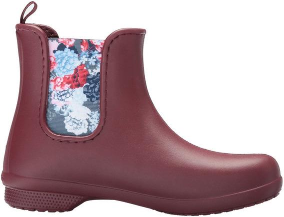Bota De Lluvia Mujer Crocs Chelsea Freesail