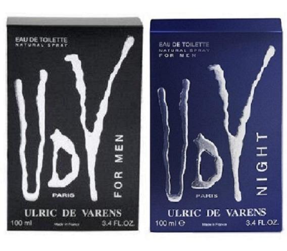 Kit 2 Perfume Udv For Men Udv Night 100ml Edt Original