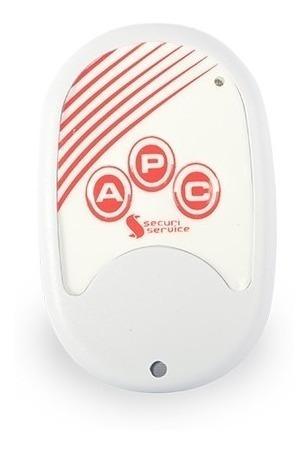 Controle Gcp 10000 Remoto Central De Alarme E Choque Ss100