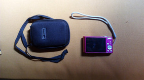 Camera Digital Sony Cyber-shot - 720p - Rosa