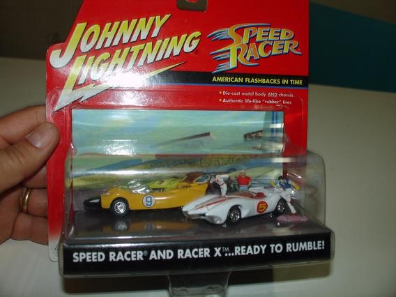 Speed Racer 164 Johnny Lightning Diorama Mach 5 Corredor X