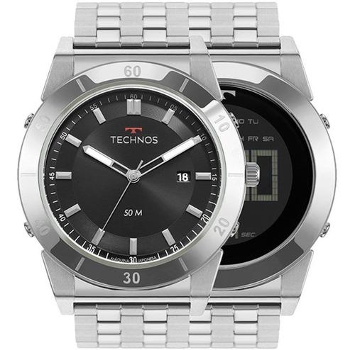 Relógio Technos Masculino Curvas 1s13cs/1p