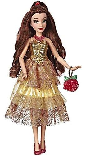 Imagen 1 de 5 de Disney Princess Style Series Belle Doll En Estilo Contempora