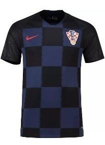 Camisa Da Croácia Azul Preta Vermelha Seleção Todas Cores