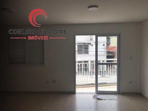 Imagem 1 de 14 de Apartamento Kitchenette/studio Em Osvaldo Cruz - Sao Caetano Do Sul - V-3271