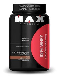 100% Whey Protein (900g) Max Titanium