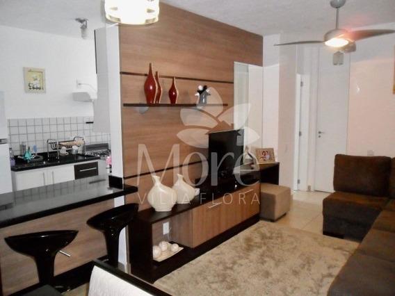 Venda De Apartamento Modelo Angelina Com 2 Quartos, Com Planejados, Em Condomínio No Villa Flora Em Sumaré Sp - Ap00392 - 34765422