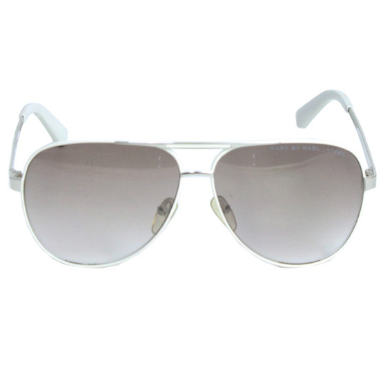 Óculos Marc Jacobs Aviator Branco Marc Jacobs