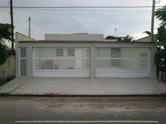 Casa Em Samambaia, Praia Grande/sp De 45m² 2 Quartos À Venda Por R$ 140.000,00 - Ca243193