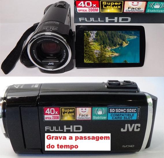 Filmadora Jvc Gz-e10bub Full Hd Gravação De Tempo