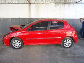 Sucata Peugeot 207 2012 1.4 Somente Para Retirada De Pecas