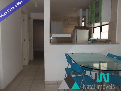 Venda De Apartamento Em Ponta Negra, Com 2 Quartos Sendo 1 Suíte, Com Móveis Projetados - Therramare - Ap00100 - 4280570