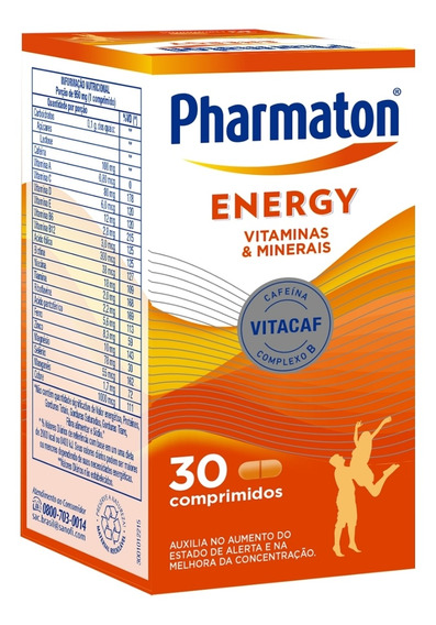 Pharmaton Energy 30 Capsulas Sanofi